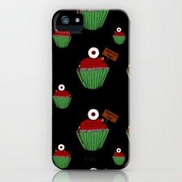 Zombie Cupcake iPhone Case