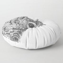 Squirrel! Floor Pillow