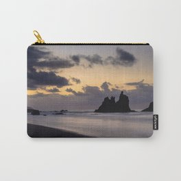 Golden Hour sunset in Benijo beach Carry-All Pouch