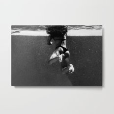 Floaty Girl  Metal Print