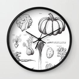Grönsaker (Vegetables) Wall Clock