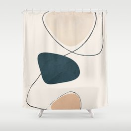 Wildline I Shower Curtain