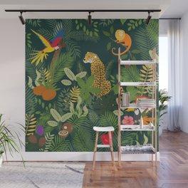 Amazon Jungle Wall Mural