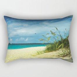 Tropical Idyll Rectangular Pillow