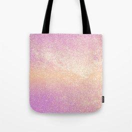 Pink Rose Gold Metallic Glitter - v4 Tote Bag
