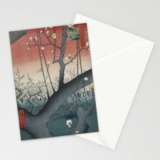 The Plum Garden at Kameido Shrine Stationery Cards