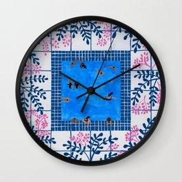Sorrento Poolside Wall Clock