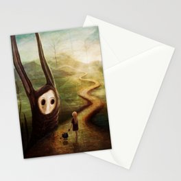 """""""May we pass by?"""" Stationery Cards"""