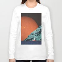 sailing Long Sleeve T-shirts featuring Sailing by Djuno Tomsni