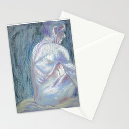 Abstract Man - Life Drawing - 1 Stationery Cards