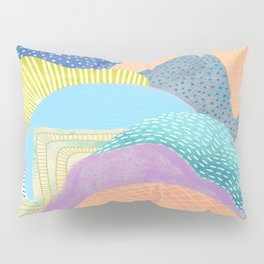 Modern Landscapes and Patterns Pillow Sham