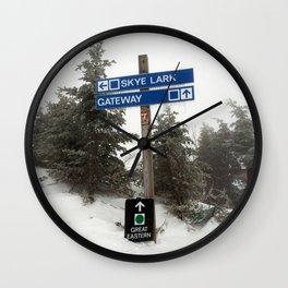 Skye Lark Wall Clock
