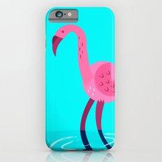 Flamingo illustration  iPhone 6s Slim Case