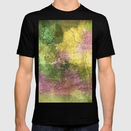 Snail trails on colorful bark T-shirt