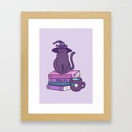 Feline Familiar Framed Art Print