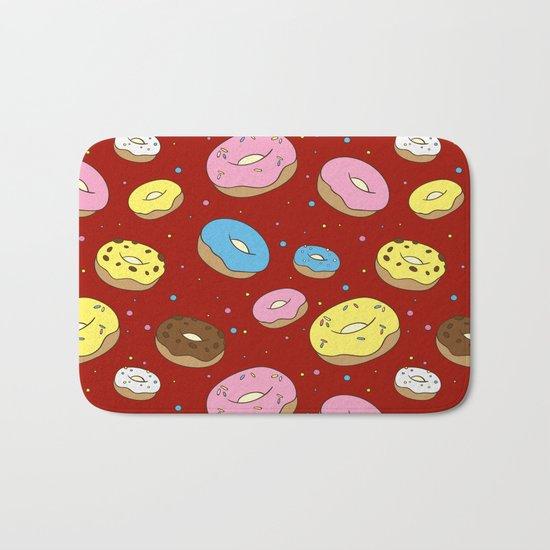 Cute Donuts Bath Mat