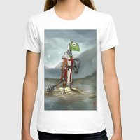 kermit T-shirts featuring Kermit the Knight by Alberto Camara