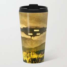 UFO in the Country Travel Mug