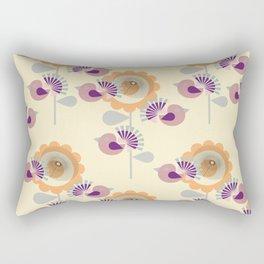 Pink Birds Rectangular Pillow