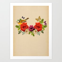 Song Bird 6 Art Print