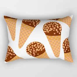 Ice Cream Drumstick Rectangular Pillow