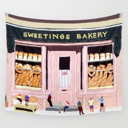 Sweetings Bakery Wall Tapestry