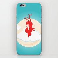 jackalope iPhone & iPod Skins featuring Jackalope by Oğuzhan Ada