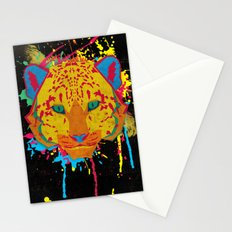 Cat Series: Leopard  Stationery Cards