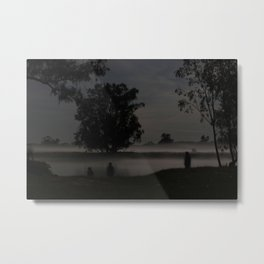 Fog on a Calm Spring Night Metal Print