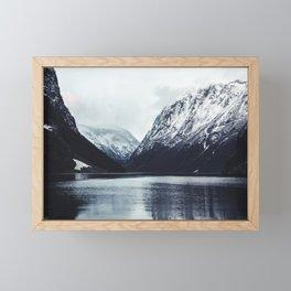 Gudvangen Harbor Framed Mini Art Print
