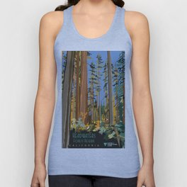 Vintage poster - Headwaters Forest Reserve Unisex Tank Top