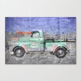 Vintage Texaco Truck Canvas Print