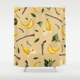 Wild West Gone Bananas! Shower Curtain