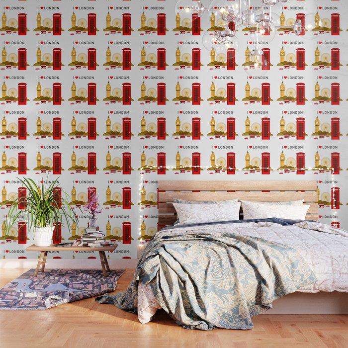 I Love London Wallpaper By Cybermall