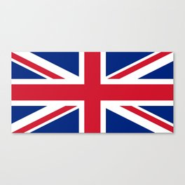 United Kingdom: Union Jack Flag Canvas Print