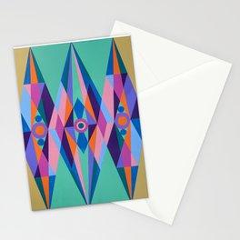 Sacred Geometric Triad Stationery Cards
