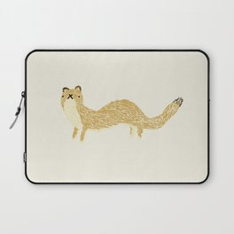 Fluffy Weasel Laptop Sleeve