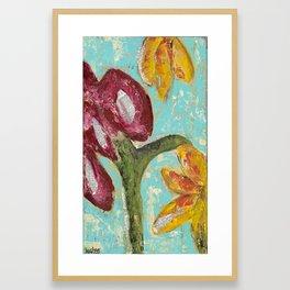 Wordy Garden Framed Art Print
