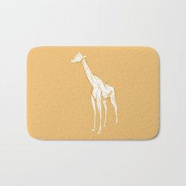 geometric giraffe Bath Mat