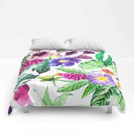 Ecuatorial Flowers  XL Comforters