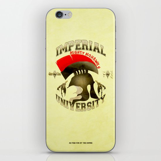 Imperial University(Skyrim) iPhone & iPod Skin