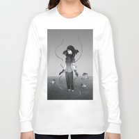 poetry Long Sleeve T-shirts featuring Poetry by Fanni Budaházi