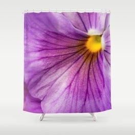 Purple Pansy Flower Close-up #decor #society6 #buyart Shower Curtain
