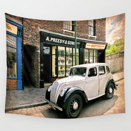 Bygone Years Wall Tapestry