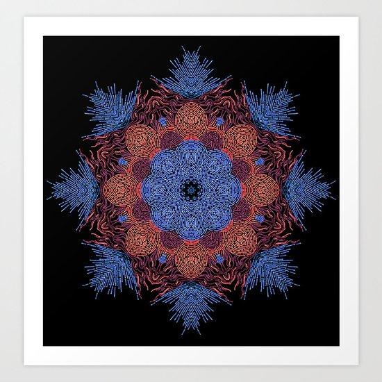 Abstract Design 12 Art Print
