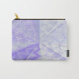 Violet kaleidoscope Carry-All Pouch