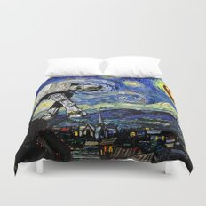 Starry Night versus the Empire Duvet Cover