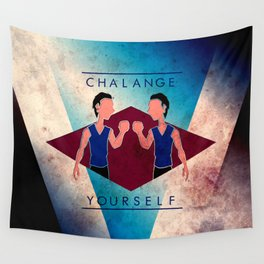 Challenge Yourself  Wall Tapestry