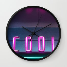 Neon COOL Wall Clock