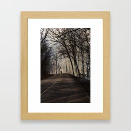 On Assignment: Controled Burn Color Framed Art Print